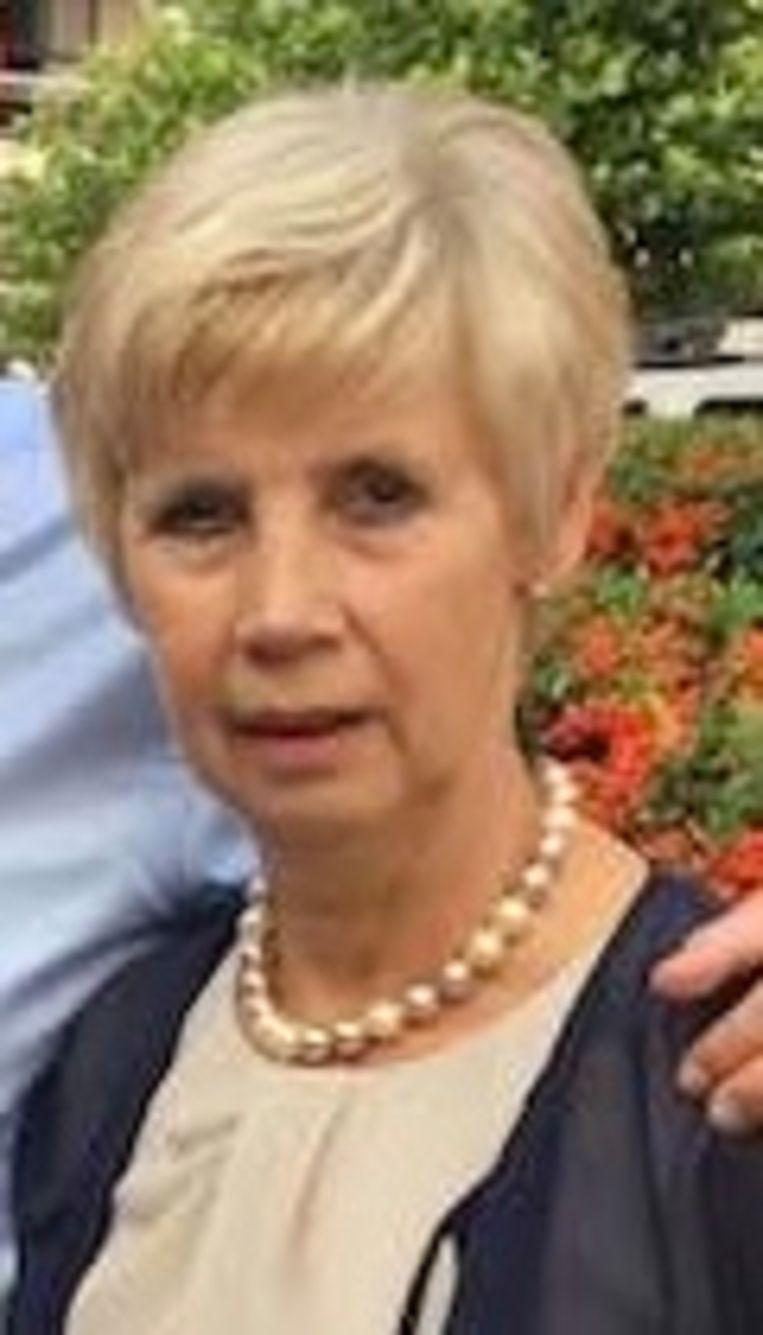 De 64-jarige Miranda Degrijze uit Lauwe.