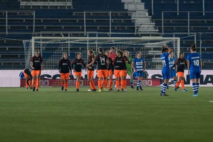 PSV komt op voorsprong tegen PEC Zwolle.