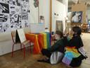 De leerlingen Kunst & Creatie van Sint-Vincentius.