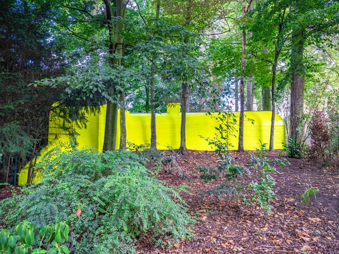 In het Stadspark van Antwerpen stonden vijf bunkers verscholen in het struikgewas, tijdens de Bevrijdingsfeesten. Met het project Hunker maakten kunstenaarsduo Elke & Bruno de bunkers weer zichtbaar.