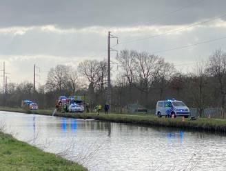 Fietser belandt in het kanaal van Schoten en overlijdt