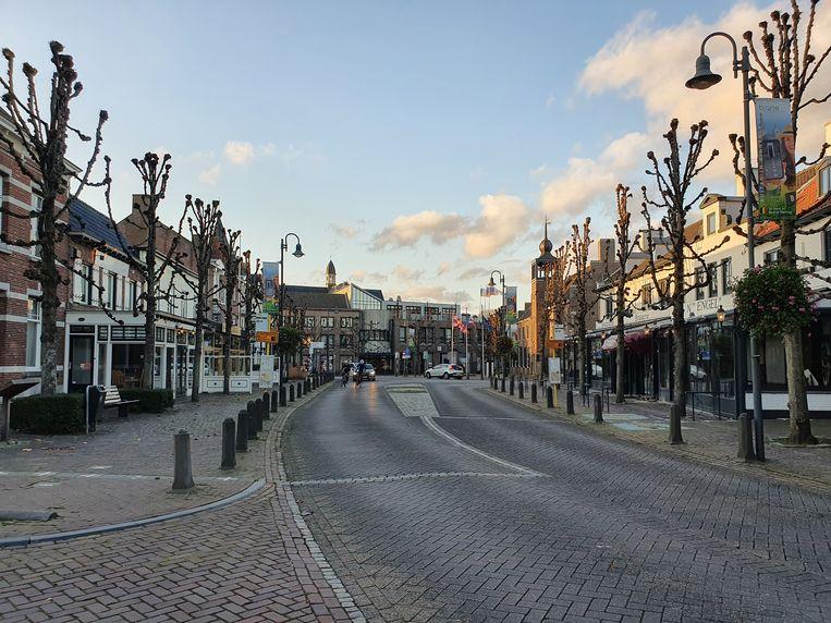 Een beeld uit het centrum van Baarle-Hertog. Beeld Toon Verheijen