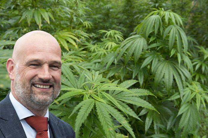 D66-wethouder Victor Everhardt is al jaren warm pleitbezorger van een wietexperiment