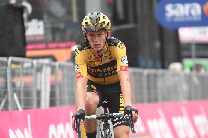 Koen Bouwman in de Giro D'italia.