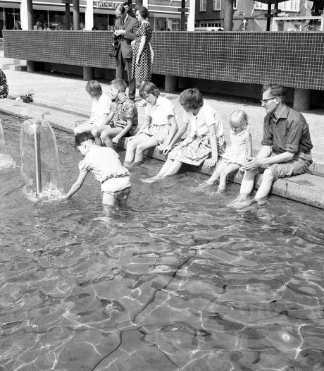 AKU-fontein, monument van de wederopbouw, overleeft alle nieuwe plannen