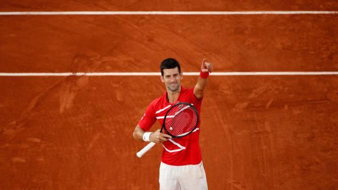 Novak Djokovic rekent in vijf sets af met Tsitsipas en vervoegt Nadal in finale Roland Garros