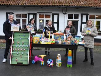 Warmste actie bezorgt kinderen De Walhoeve speelgoed en spelletjes