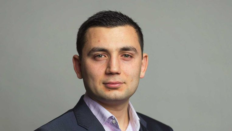 Ilhan Tekir is gemeenteraadslid in Gorinchem. Beeld ANP
