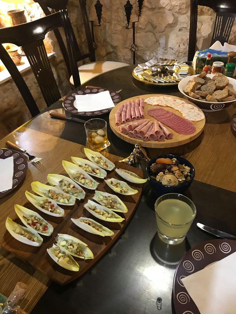 Heerlijkheden die de Libanese zwangere zorgeloos mag eten. Beeld null