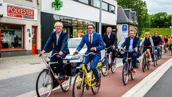 Oostendse Steenweg klaar, maar Fietsersbond boos