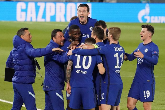 Chelsea trekt met een 1-1-gelijkspel naar de terugmatch tegen Real op Stamford Bridge.