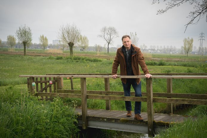 Wim Huijser in het Binnenveld.