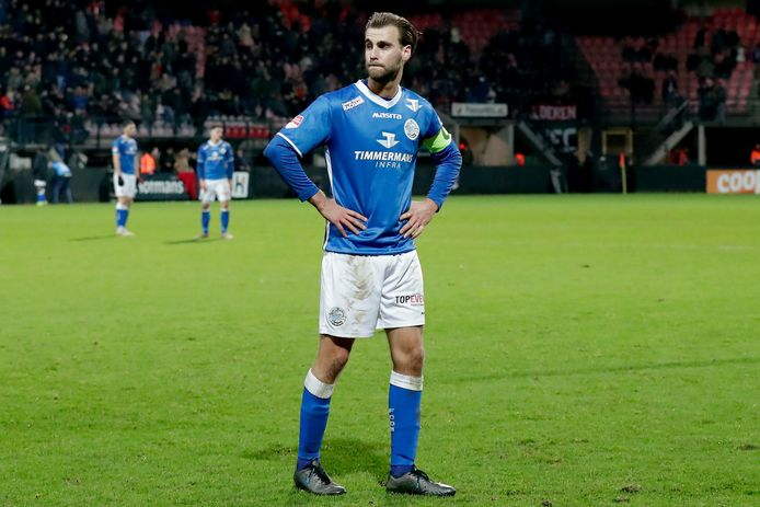 FC Den Bosch-aanvoerder Danny Verbeek wil de uitwedstrijd tegen Excelsior benaderen als ieder ander duel.