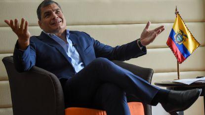 Ecuador vaardigt aanhoudingsbevel uit tegen in België woonachtige ex-president Correa