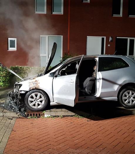 Auto total loss door brand in Beuningen