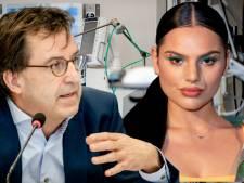 Famke Louise werkt nu samen met ic-arts Gommers: vandaag begint mondkapjes-campagne