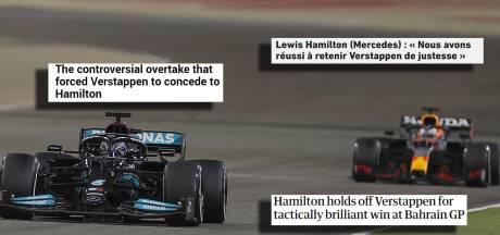 Buitenlandse media: 'Episch duel tussen Verstappen en Hamilton'
