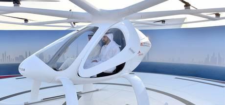 In Dubai vlieg je straks in een onbemande taxi