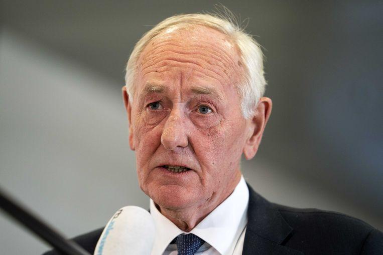 Johan Remkes, hier nog als interim-burgemeester van Den Haag.  Beeld ANP