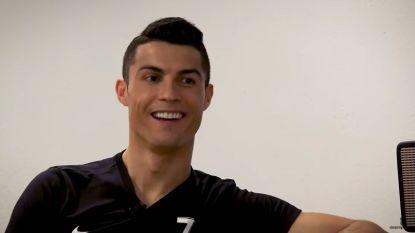 """Cristiano Ronaldo die rust krijgt tegen Espanyol: """"Ik kijk in de spiegel en ik hou van wat ik zie"""""""