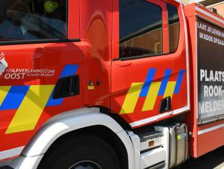 Brand na explosie in bergruimte snel geblust