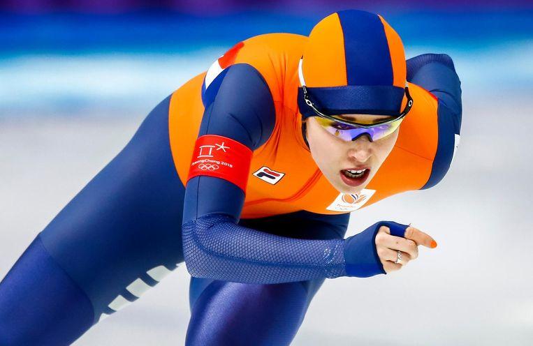 Antoinette de Jong ging voor goud, maar gaat naar huis met brons. Beeld ANP