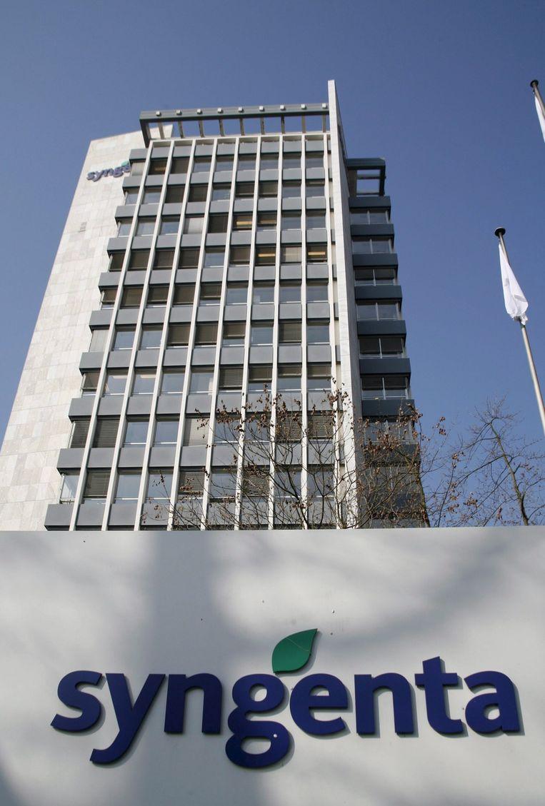 Syngenta-kantoor in Basel. Beeld ap