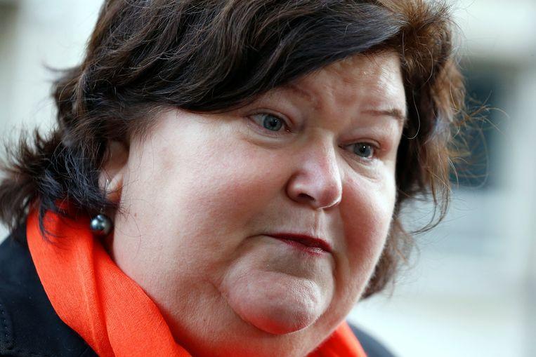 Minister van Asiel en Migratie Maggie De Block (Open Vld) Beeld BELGA
