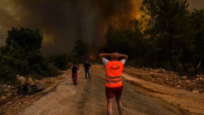 Branden in Turkije houden aan, Duits koppel omgekomen bij vluchtpoging