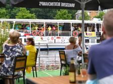 """Un """"bateau orchestre"""" sur la Meuse de Namur à Dinant"""