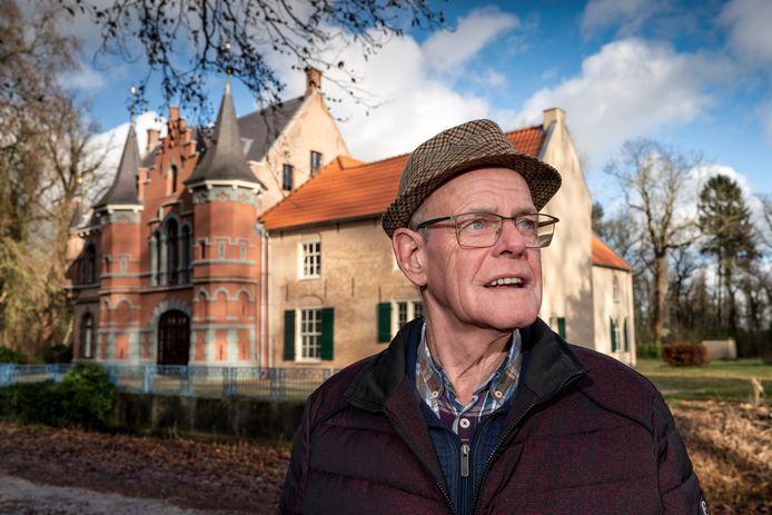 Henk Roestenburg, geboren en getogen op kasteel d'Oultremont in Drunen, geeft nu nog rondleidingen op landgoed Steenenburg, het voormalige Land van Ooit in Drunen