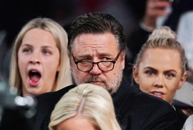Russell Crowe ontbrak bij de uitreiking van de Golden Globes, waar hij een award won in de categorie beste acteur in een miniserie of televisiefilm. Beeld EPA