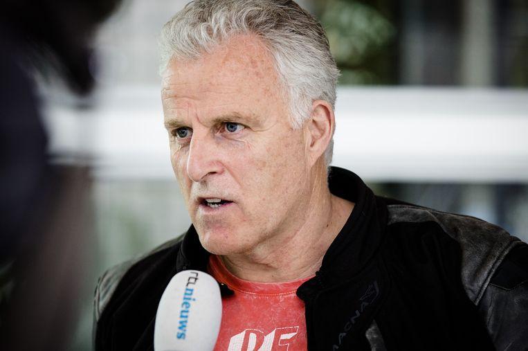 Misdaadverslaggever Peter R. de Vries in 2016. Beeld ANP