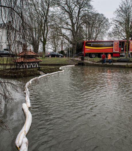 Olielek van een kilometer in Tielse Stadsgracht: wie is de schuldige?
