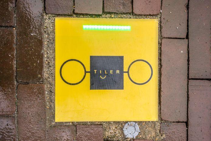 Fiets opladen via TILER - Laadtegel voor elektrische fiets