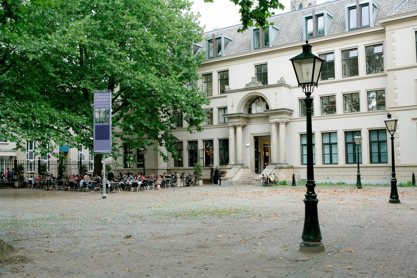 Het Utrechts Archief aan de Hamburgerstraat.