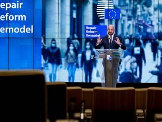 Herstelplan van Charles Michel krijgt een week voor Europese top al kritiek
