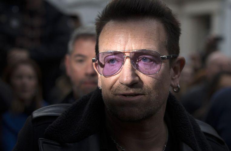 Bono deed weer mee aan Band Aid. Beeld belga