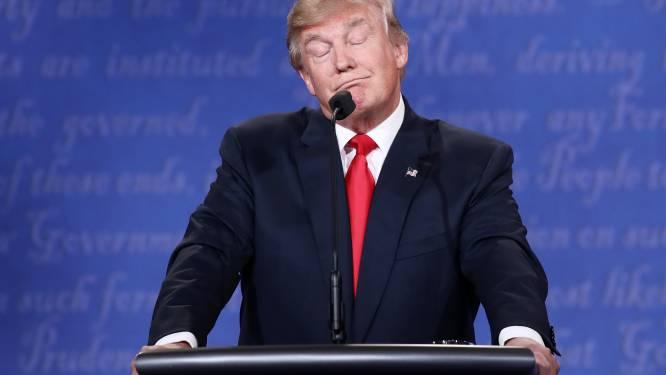 """Trump doet zaal lachen: """"Niemand heeft meer respect voor vrouwen dan ik"""""""
