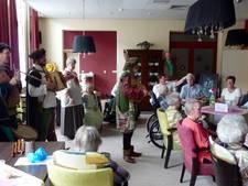 Zorgcentrum Sint Antonius Heusden krijgt middeleeuws bezoek