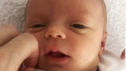 """Natalia toont eerste video van haar dochter Bobbi-Loua: """"Dag poppemeisje"""""""
