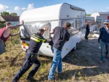 Ontruiming in Scharendijke is domper voor 'campinggasten'