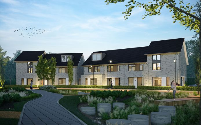 Hoe de nieuwbouwwijk Lentelijn er uit komt te zien