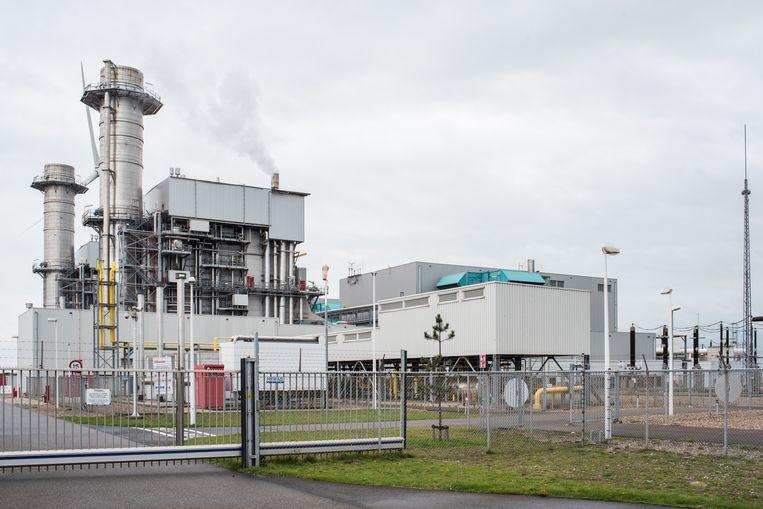 Gascentrale Enecogen in Rotterdam. Beeld Simon Lenskens