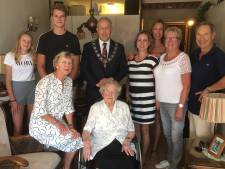 Maartje was de oudste inwoner (107) van Rotterdam én de 'beste moeder van de wereld'