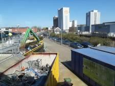 Lange file bij de Milieustraat in Woerden: kom alleen als het echt moet