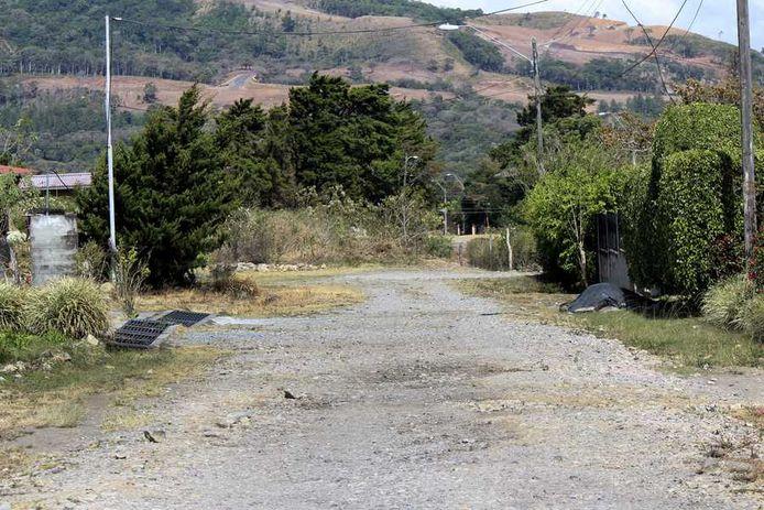 De weg waar de studentes dagelijks liepen voor hun verdwijning