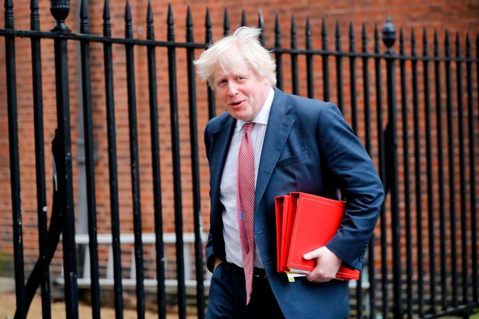 Boris Johnson neemt ontslag als buitenlandminister.