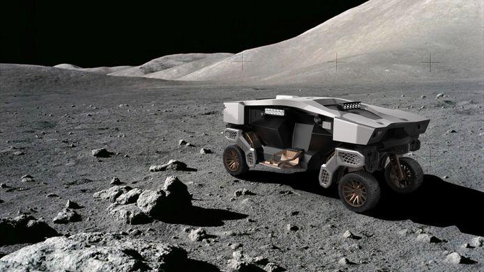 De Hyundai Tiger X-1 is ook inzetbaar voor expedities op de maan of andere planeten.