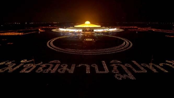 Journée internationale de la paix: 200 000 bougies allumées en Thaïlande